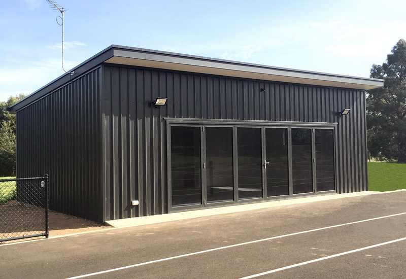 Skillion Roof Sheds Sutrah Buildtek Steel Sheds Kit Homes